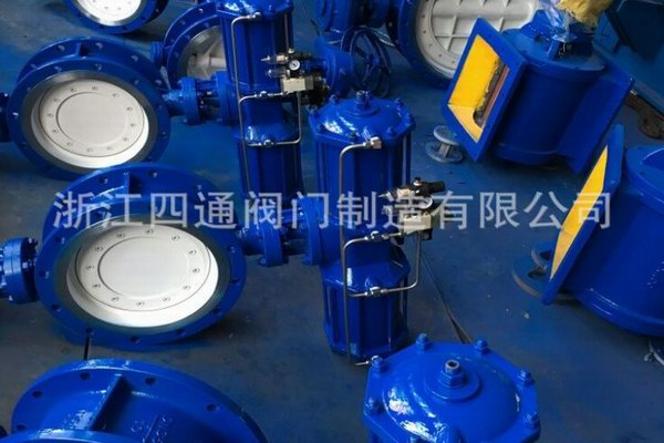 Metal hard seal butterfly valve